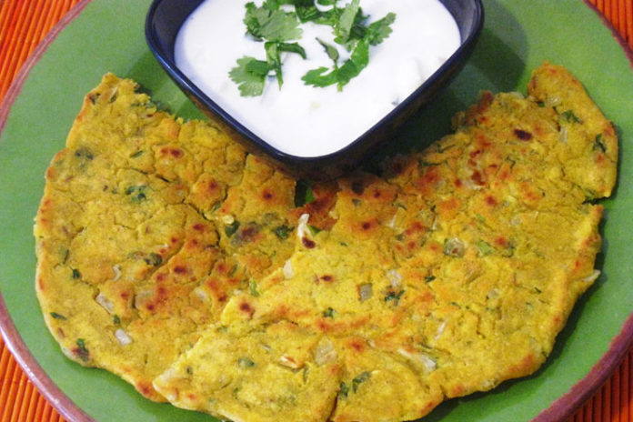 Thalipeeth from Maharashtra