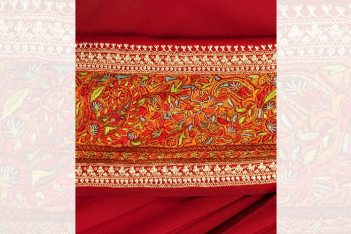 Sozni embroidery