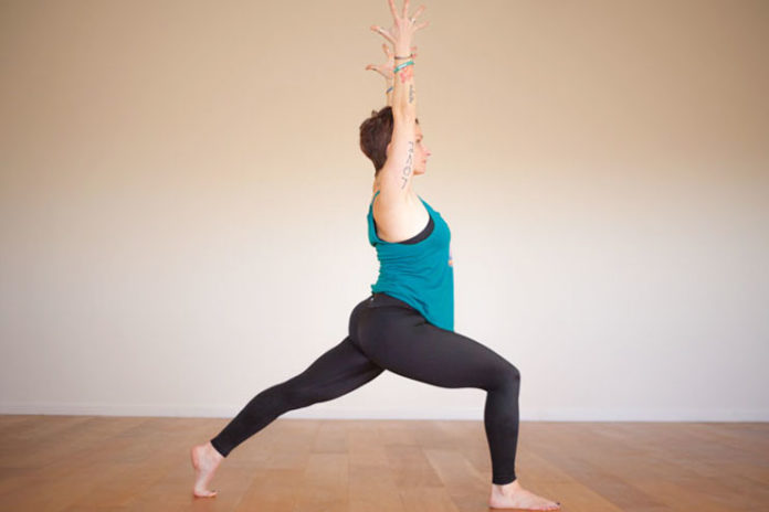 Anjaneyasana or crescent
