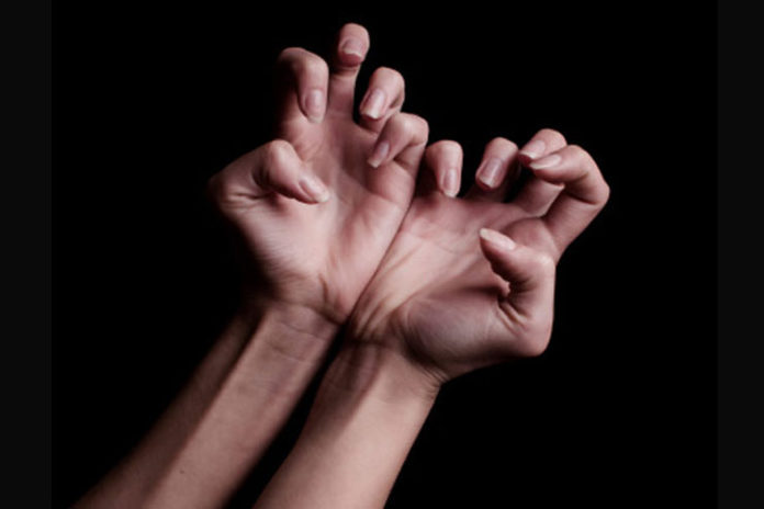 Claw stretch for hands