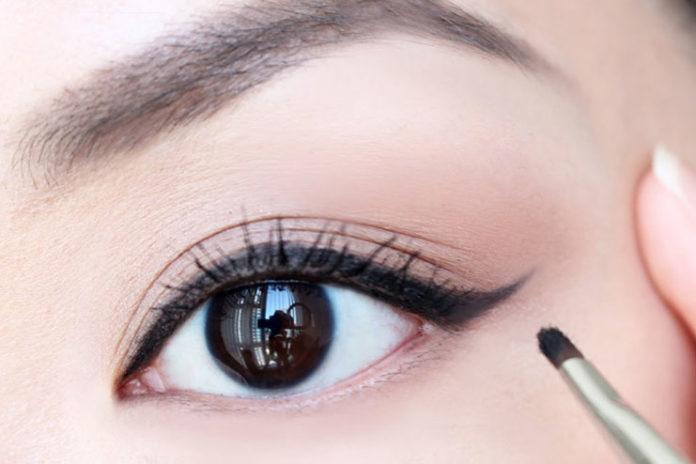 Add the eyeliner