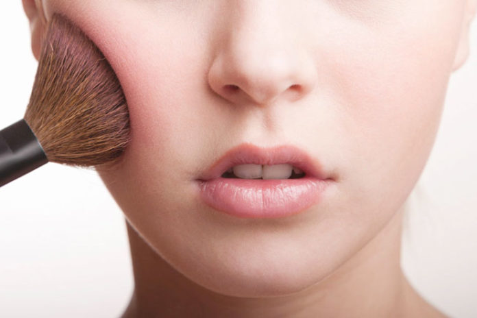 Brush away the excess color