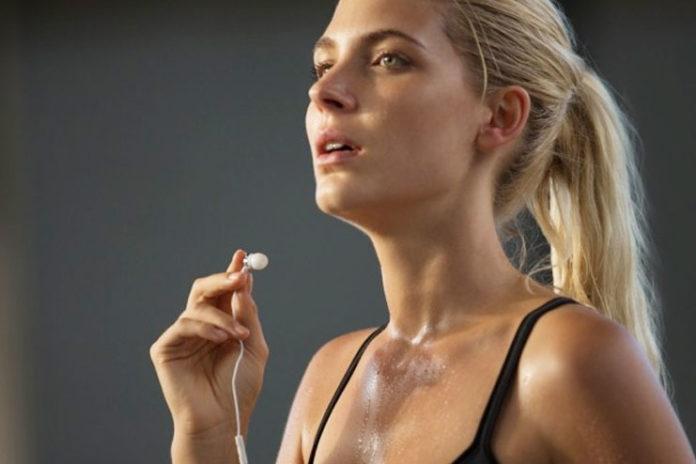Stimulate the sweat glands