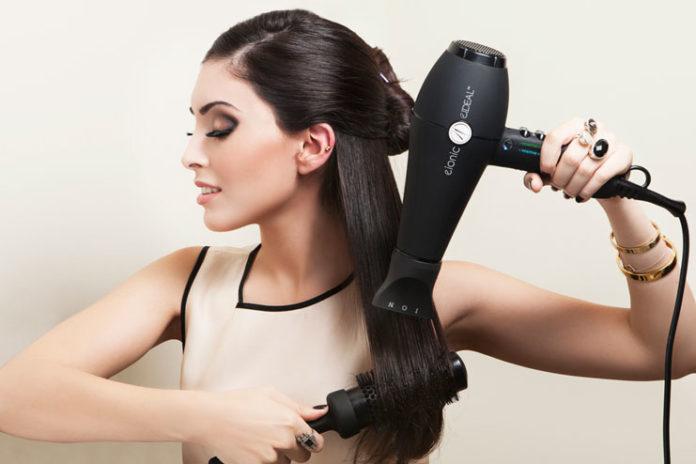 Dry hair cautiously