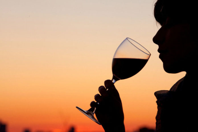 Drink a glass of red wine a day