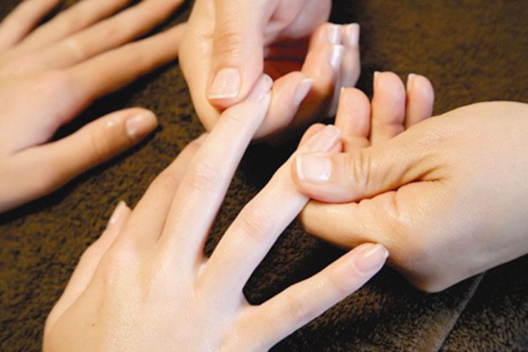Massage Your Nails