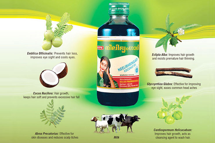 Nelibhringadi Coconut Oil