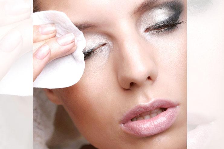 Eye makeup remover