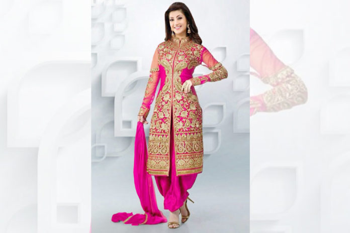 Jacket patiala salwar