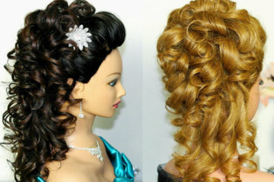 6 Wonderful and Easy Hairstyles For Curly Hair