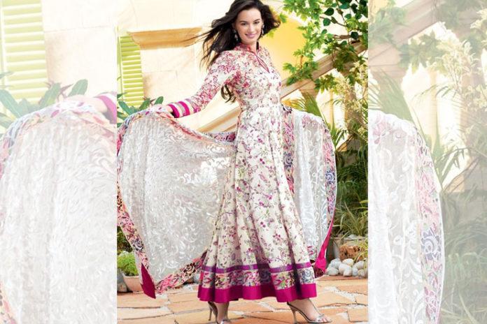 Floral Printed Salwar Suit
