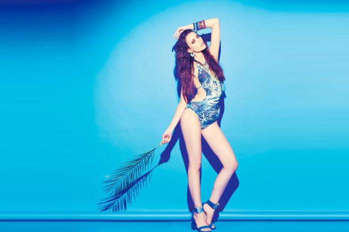 Exotic Blue Beach Wear