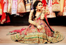Colorful Bridal Lehenga-Choli Combination