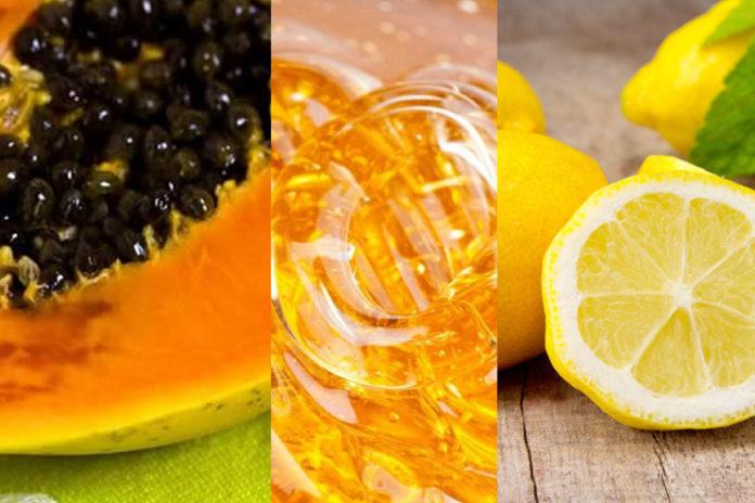 Papaya, Honey, And Lemon