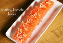 Karachi Bombay Halwa