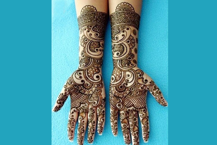 Contemporary Mehendi Designs