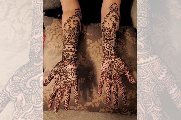 Full Hands Bridal Mehendi