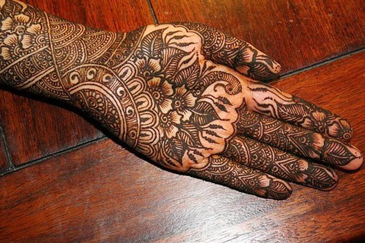 Modern Bridal Rajasthani Mehendi