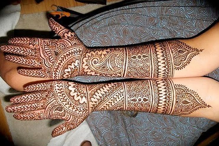 Easy Rajasthani Mehendi Designs