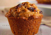 Mini Raisin Muffin