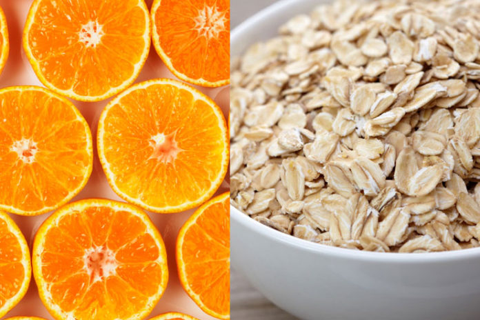 Orange And Oats Face Pack