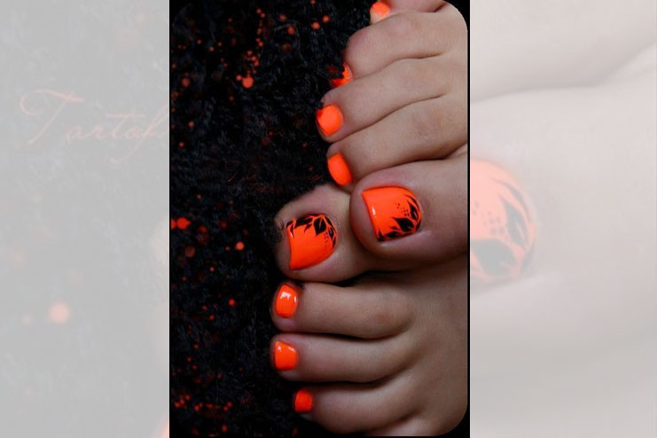 Bright And Bold Summer Pedicure