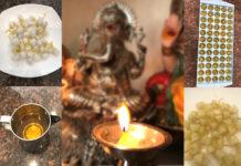 Make ghee diyas at home