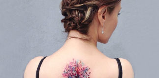 Fashionable Watercolor Tattoos For Women