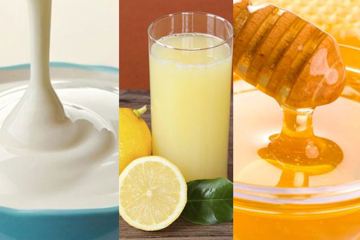 Yogurt, Lemon Juice And Honey