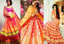 Neon Bridal Lehengas