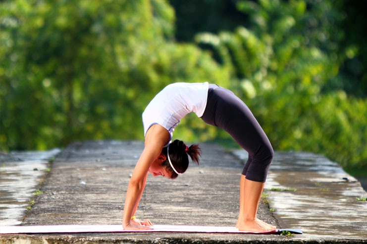 The Benefits Chakrasana Or Upward Facing Bow