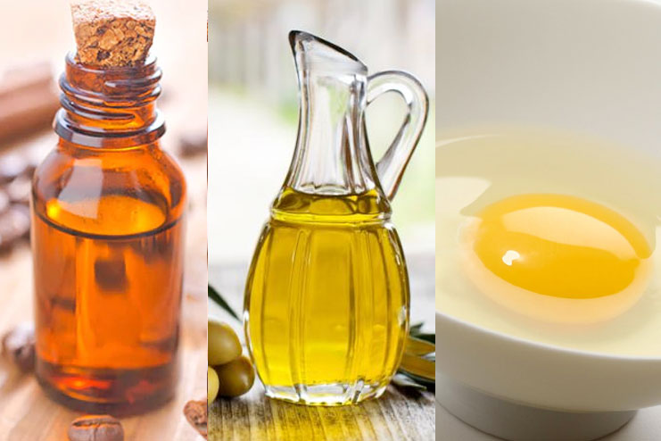 Olive Oil and Egg Hair Mask