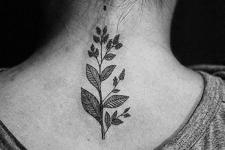 Back Dotwork Tattoo