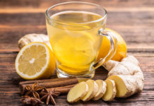 Ginger Tea for skin Care