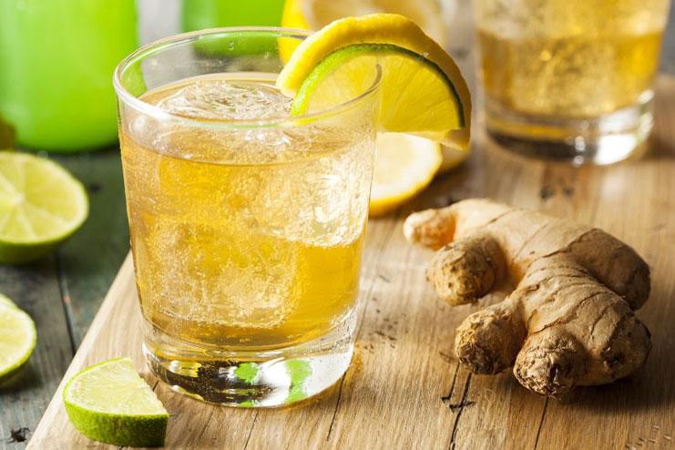 Iced Ginger Green Tea