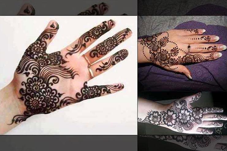Twirl Kashmiri Mehndi Design
