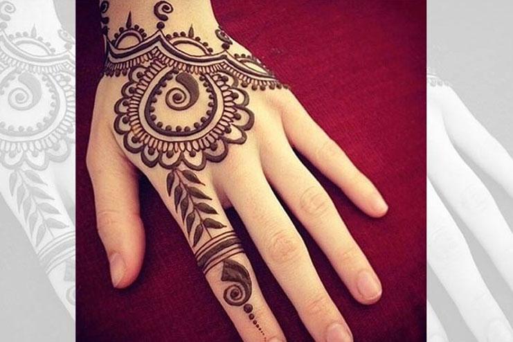 Motif Kahmiri Design