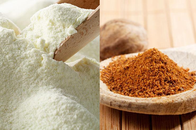 Milk And Nutmeg Powder Facial