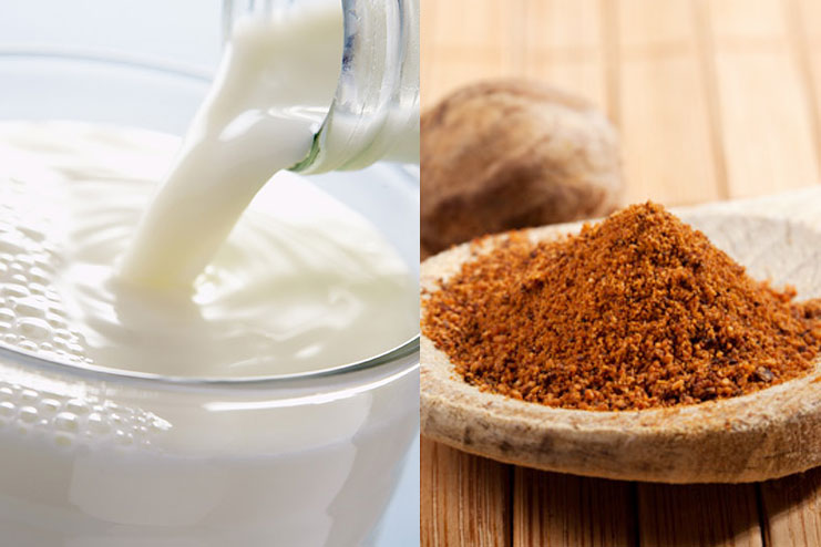 Milk Powder And Nutmeg For Acne Marks