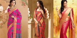 Kanchipuram Handloom Silk Sarees