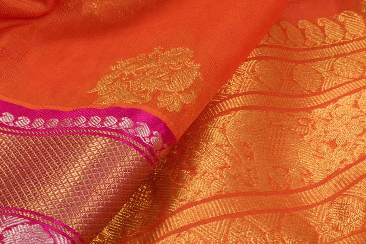 Motifs Of Kanchipuran Silk Sarees