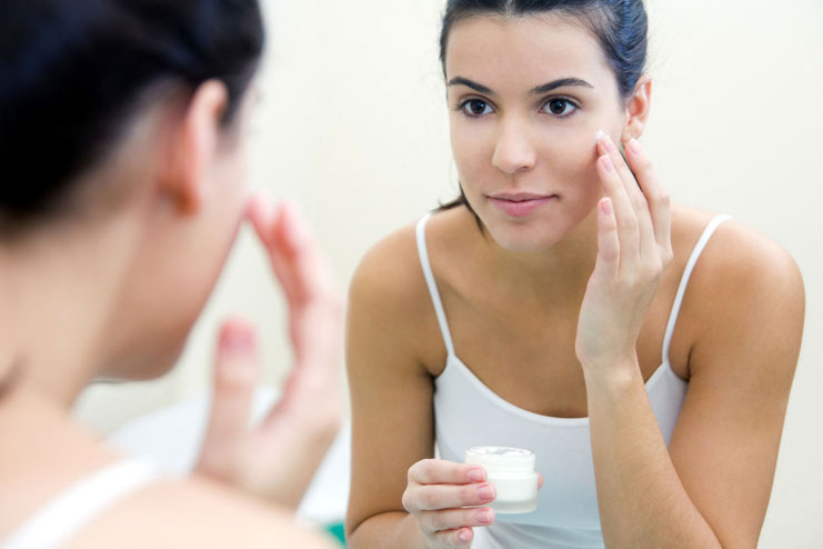 Apply Acne Treatment Medications