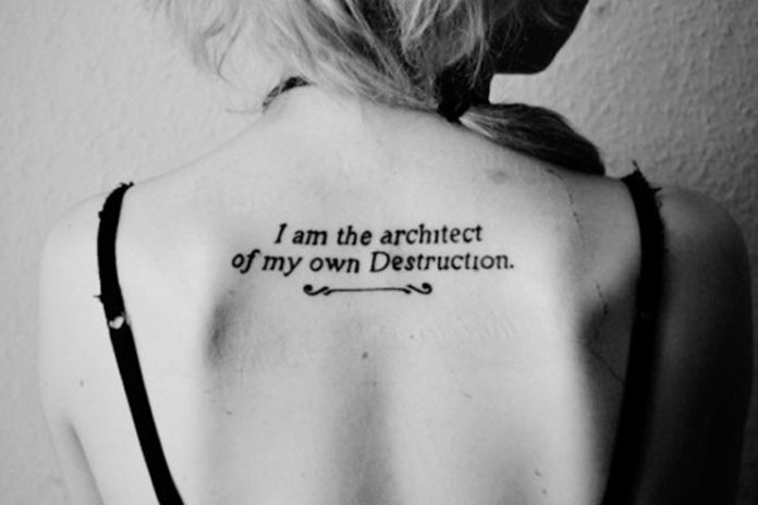 'I Am An Architect' Tattoo