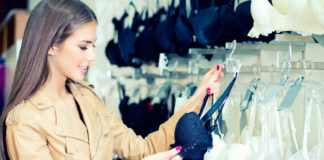 Wearing And Buying Lingerie