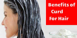 curd for hair