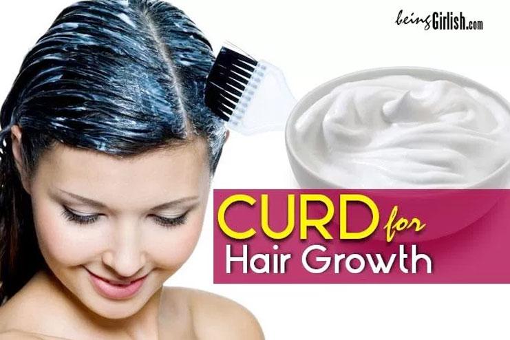 Curd for hair growth