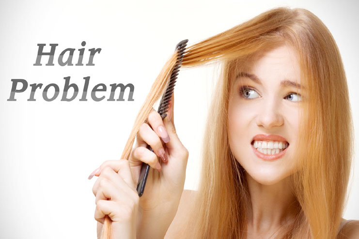 hair problems and causes of hair damage