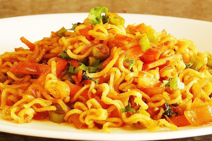 Quick Masala Noodles