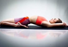Supta Virasana Yoga For Knee Pain