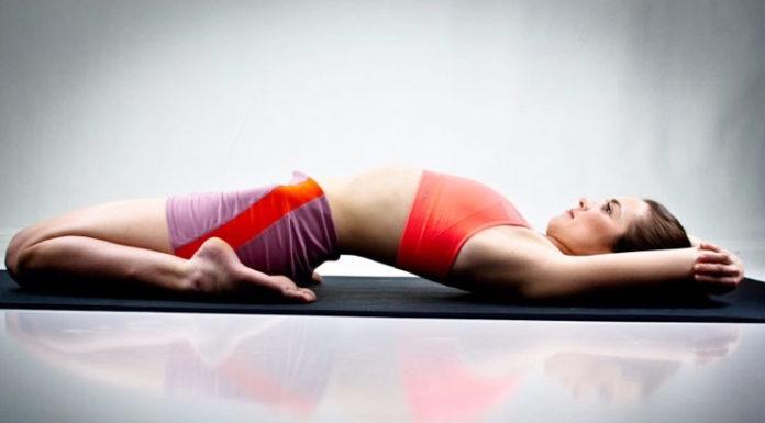 Supta Virasana Yoga For Knee Pain